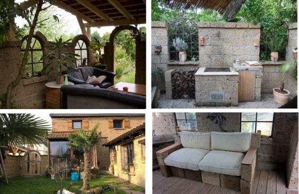 terrasse mediterran beispiele nachher nachher garten beispiele fr blumen und pflanzen garten. Black Bedroom Furniture Sets. Home Design Ideas